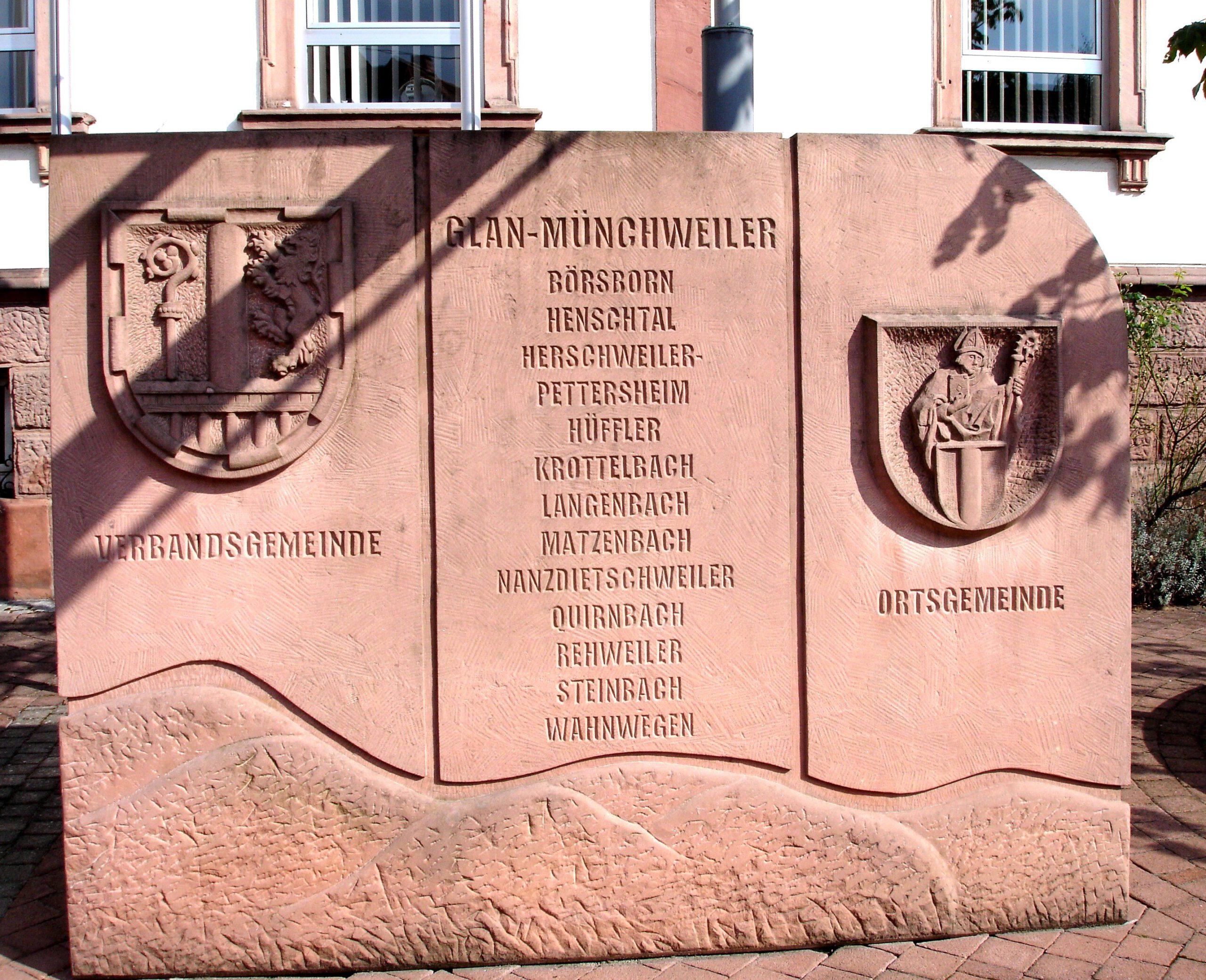 Wappen der alten VG Glan-Münchweiler